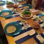 メキシカンレッスン初日はタコスパーティーで盛り上がりました!