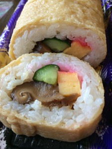 南関揚げ巻き寿司